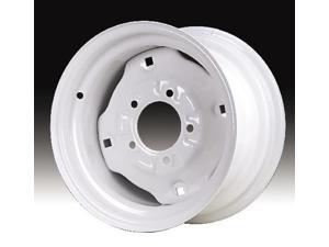 Carlisle 1217394266 ATV Wheel 12in White 5/4-1/2