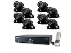 REVO America R165T8G-2T 16-Channel 2TB 960H DVR Surveillance System with 8 700TV