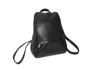 Royce Leather VLKNAP-BLK Vaquetta 10-Inch Adjustable Backpack