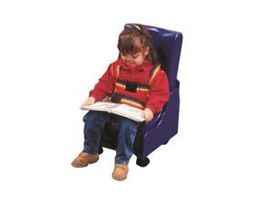 Skillbuilders 30-1171 2-Piece Mobile Floor Sitter with Wood Base Medium