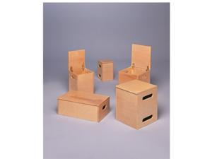 Baseline 55-1015 Lifting Box for Work Hardening and Fce 4-Piece Set 2 Ea. 14X14X