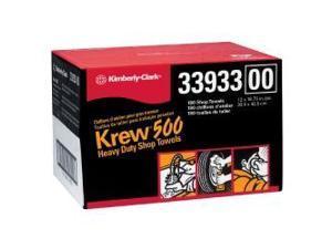 Kimberly Clark 33933 Krew Heavy Duty Rags 12-in x 16-3/4-in - Twin Pop-Up