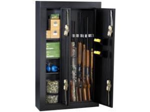 Homak HS30136028 8 Gun Double Door Steel Security Cabinet Black