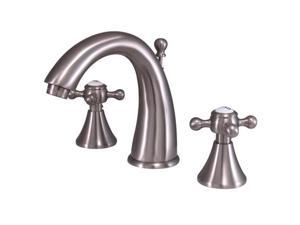 """Kingston Brass KS2978BX Two Handle 8"""" to 16"""" Widespread Lavatory Faucet with Bra"""