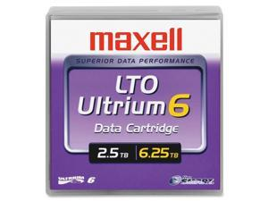 "1/2"" Ultrium LTO-6 Cartridge 2776 Ft 2.5TB"