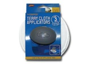 Carrand 40122 The Gripper 5in Terry Applicators 3 pack