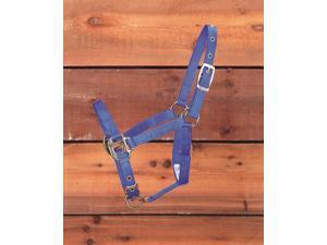 Hamilton Halter Company 3DA FLBL Adjustable Chin Horse Halter With Snap