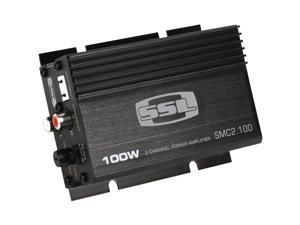 SOUNDSTORM SMC2.100 Mini 100-Watt 2-Channel Class AB Amp