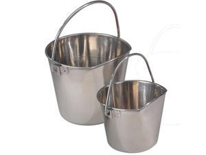 Proselect ZT644 02 Stainless Flat Sided Pail 2Qt
