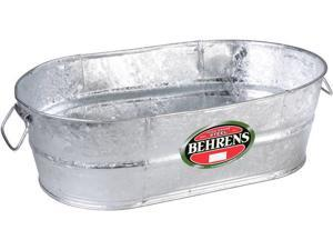 Behrens 000-OV 2-Gallon Oval Steel Tub