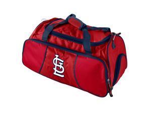 Logo 806293527725 St Louis Cardinals Athletic Duffel Team Color