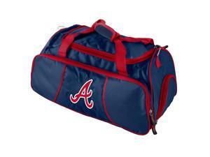Logo 806293503729 Atlanta Braves Athletic Duffel Team Color