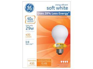 Ge Lighting 66246 29 Watt A19 Halogen Light Bulb Pack 4 Count