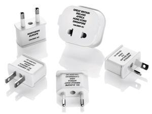 Franzus M600E Polarized Adaptor Plug Set 5 Count