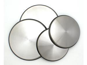 Range Kleen 550-4 Stainless Steel Burner Kovers- Set Of 4