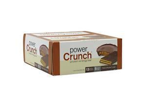 Power Crunch 248310 Power Crunch Bar Peanut Butter Fudge Case Of 12 1.4 Oz