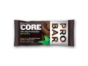 ProBar 1191733 Organic Mint Chocolate Core Bar Case Of 12 2.46 Oz