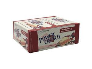 Power Crunch 248575 Power Crunch Bar Wild Berry Cream Case Of 12 1.4 Oz