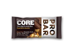 ProBar 1191758 Peanut Butter Chocolate Core Bar Case Of 12 2.46 Oz
