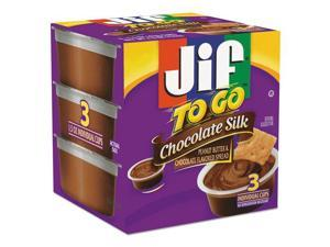 Jif To Go Chocolate Silk Peanut Butter and Chocolate Flavored Spread, 4.5-oz. -