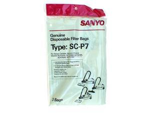 Sanyo SC-P7 Disposable Filter Bags for Sanyo Vacuum - 3 Bags
