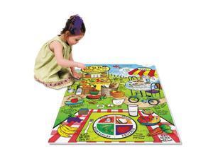 WonderFoam Land Of Nutrition Floor Puzzle 63 Pieces
