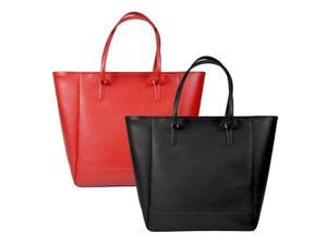 Royce Leather Hailey Saffiano Tote