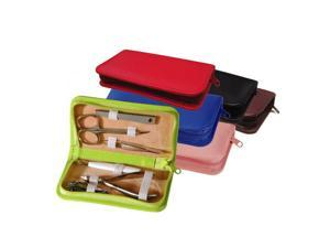 Royce Leather Travel & Grooming Kit, Red - 551-RED-6