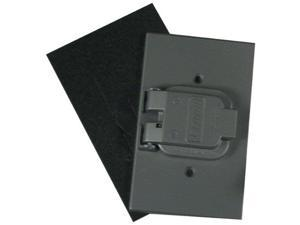 Leviton Mfg #01171 027-4925-2 Single Receptacle Weather Resistant Cover