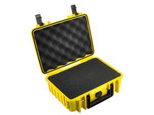 B #38;W International 1000 #47;Y #47;SI Type 1000 Yellow Outdoor Case with SI Foam