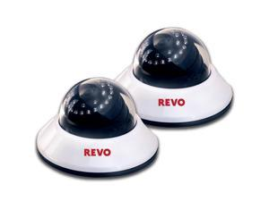REVO America RCDS30-2ABNDL2 660 TVL Indoor Dome Surveillance Camera with 80-foot