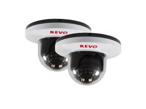 REVO America RCDS30-8BNDL2N 700 TVL Indoor Dome Surveillance Camera with 100-foo