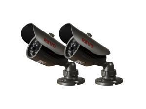REVO America RCBS30-2ABNDL2 660 TVL Indoor/Outdoor Bullet Surveillance Camera wi