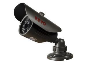 REVO America RCBS30-2A 660 TVL Indoor/Outdoor Bullet Surveillance Camera with 80