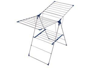 Leifheit 81156 Roma 150 Stainless Steel Gullwing Laundry Drying Rack