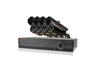 REVO America RL41B4GA-5G REVO Lite 4 Channel 500GB 960H DVR Surveillance System