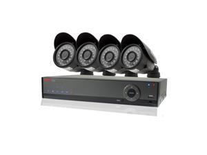 REVO America RL41B4G-5G REVO Lite 4 Channel 500GB 960H DVR Surveillance System w