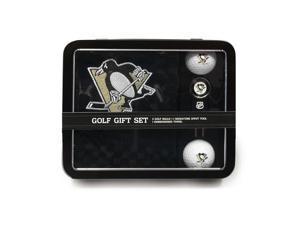 Team Golf 15278 Pittsburgh Penguins Golf Gift Set