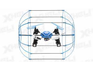 Hero RC Sky Matrix H1306 4 CH RC QuadCopter 2.4ghz 6-Axis Gyro Ready to Fly (Blue) Extra bonus battery
