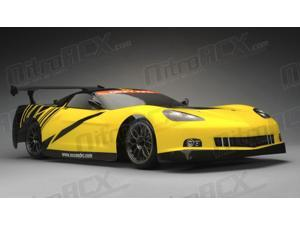 Exceed RC 2.4Ghz MadSpeed Drift King Brushless Edition 1/10 Electric Vette Ready to Run Drift Car (Yellow/Black)