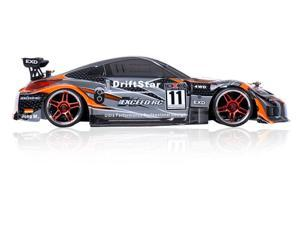 2.4Ghz Brushless Version Exceed RC Drift Star Electric Powered RTR Remote Control Drift Racing Car 350 Orange Style