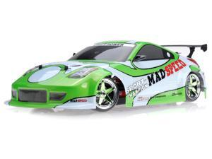 1/10 Scale Exceed RC MadSpeed Electric Powered Drift Car 350 Style Green