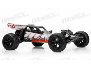 Mad Gear Racing Desert Wolf Baja 1/10 2WD RTR RC Buggy (Red)