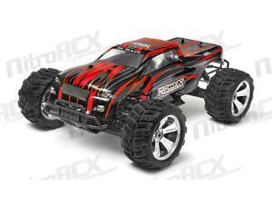 Iron Track Raider MegaE8MTL 1:8 SCALE ARTR 4WD Brushless Monster Truck (Red)