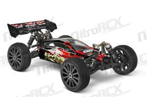Iron Track Shootout E8XBL 1:8 Scale ARTR 4WD Brushless Buggy (Red)