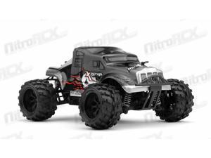 MicroX Racing 1/24 Micro Scale RC Monster Truck Ready to Run 2.4ghz (Black)