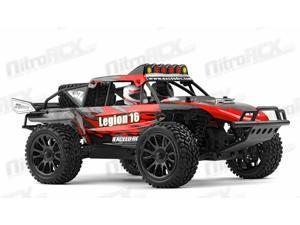 Exceed Racing Desert Monster 1/16 Scale Truck Ready to Run 2.4ghz (DD Red)