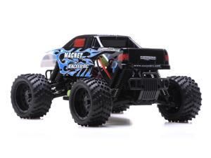 1/16 2.4Ghz Exceed RC Magnet EP Electric RTR Off Road Truck Fire Bluec