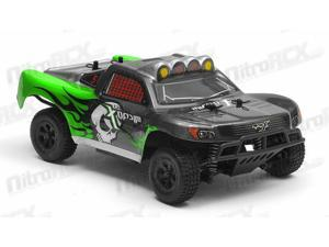 MicroX Racing 1/24 Micro Scale RC Short Course Truck Ready to Run 2.4ghz (Green)