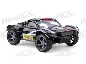 Iron Track RC Electric Tyronno 1:18 4WD Short Course Truck Ready to Run (Black)